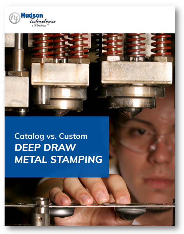 Catalog vs. Custom Deep Draw Metal Stamping Cover